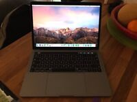 Apple MacBook Pro Space Grey with Touchbar (Late 2016)