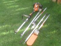 PETROL MUTI TOOL HEDGE TRIMMER AND CHAINSAW £45