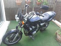 Yamaha fzs600 cruiser. This bike has mot and will consider exchange for van
