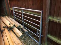 Galvanised steel gate 7 ft