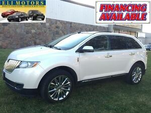 2013 Lincoln MKX PREMIUM PKG.AWD.PANORAMIC SUNROOF.NAVIGATION.LE