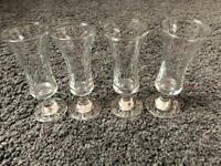 Sherry glasses set of 4