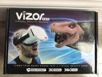 NEW Vizor Pro Virtual Reality Headset RRP £30