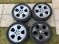 """Audi A3 8p 17"""" Sport S-line wheels and nearly new tyres"""