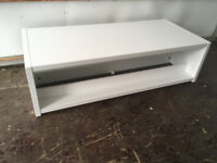 Coffee table / occasional table / unit / white