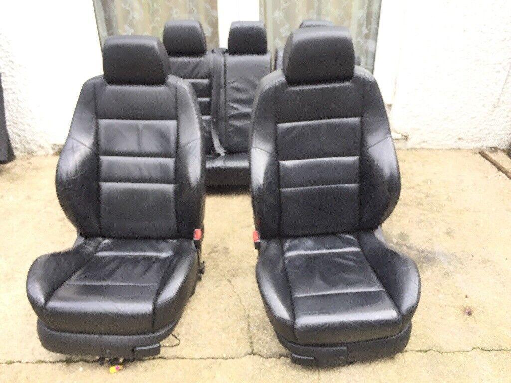 GENUINE VW GOLF MK4 1.8T RECARO LEATHER SEATS £300
