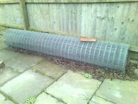 Galvanised Fence Mesh roll