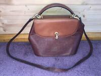 Authentic Lorbac Italian leather bag ONO