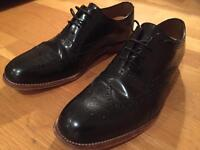 Grenson Mens Black Leather Shoes