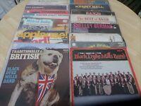 Jazz, Big band, Vinyl LP's x 92, Kenny Ball, Count Basie, Duke Ellington, Dukes of Dixieland, etc