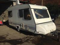Adria 4 berth caravan clean starter van lightweight