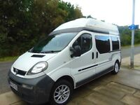 For reluctant sale our Vauxhall Vivaro camper/day van. Lots of extras.