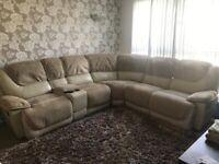 URGENT Corner sofa + 2 seater sofa