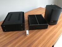Intel Nuc 6i5 fanless 8gb ddr4 250gb ssd hdplex 200 wat psu 2tb nas Roon Rock ready