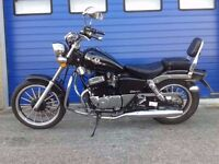 STUNNING 2016 AJS 125 CUSTOM CRUISER , CHOPPER , VERY GOOD CONDITION