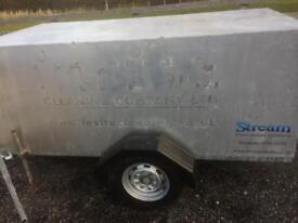 Window Cleaning Self Contained Trailer