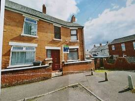 Legmail Street BT14.3 Bedroom end of terrace in a cul de sac location.