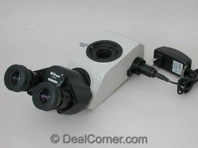 Nikon Microscope Teaching Head With Light Pointer For Optiphot Labophot