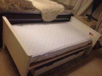 Mamas & Papas Toddler Bed with John Lewis Mattress