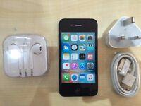 IPHONE 4S BLACK/ UNLOCKED / 16 GB/ VISIT MY SHOP. / GRADE A / 1 YEAR WARRANTY + RECEIPT