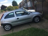 Vouxhall Corsa 2003 1.2 Excellent runner low milage