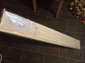 IKEA Lindmon white venetian blind, unopened, 100cm (wide) x 250cm (drop)