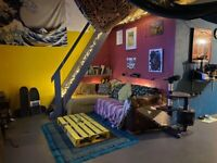 Room Available in a Creative Warehouse
