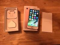 IPhone 7 128gb Rose Gold EE,T-Mobile,Orange,Virgin networks,Asda,