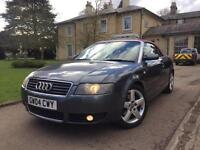 2004 Audi A4 1.8 Turbo+RED LEATHER+ROOF+FSH+PX+SWAP