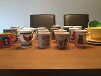 A selection of mugs and bowls