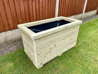 Large planter box (price depends on size)