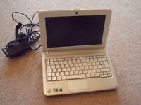SONY VAIO NETBOOK COMPLETE WITH POWER LEAD, AS PICTURED