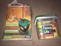Ronseal Power Fence Sprayer
