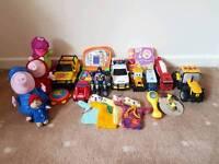 Bundle of children/toddler toys & teddies