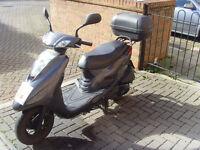 Yamaha xc125 e vity 7800miles £900
