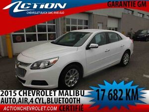2015 CHEVROLET MALIBU AUTO,AIR,4 CYL,BLUETOOTH
