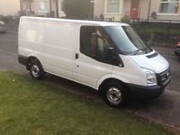 ford transit swb, 13 reg, 2.2 TD, mot 1 year, 79k miles, very good condition £5995 no vat kilmarnock