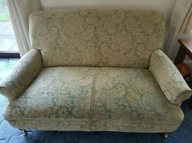 Two Multi York two seat sofas, will sell separately or together, in excellent condition
