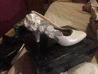 Various prom/wedding shoes