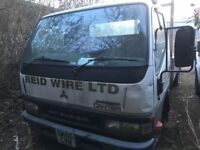 Mitsubishi canter pic up 2005 breaking spare parts available engine gearbox axel prop shaft wheels