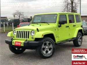 2016 Jeep WRANGLER UNLIMITED SAHARA**6.5 INCH TOUCHSCREEN**NAV**