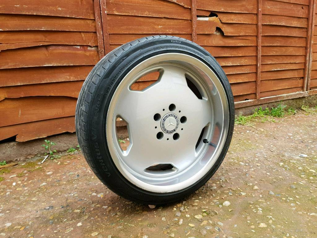 17 Inch Mercedes AMG Type Alloy Wheels & Tyres - w124 sel ce e class golf  clk - | in High Wycombe, Buckinghamshire | Gumtree