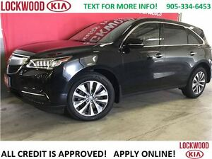 2014 Acura MDX Nav Pkg - ONE OWNER TRADE IN