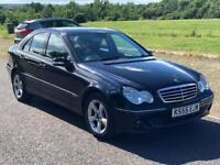 Automatic Mercedes C200 CDI Avantgarde Diesel,3 M Warranty,Private Plate, Service History,1 Year MOT