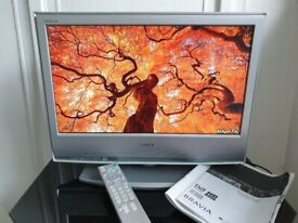 Sony Bravia 20 inch HD TV with built in FreeView and HDMI port in full working order