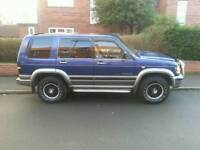 Isuzu trooper 3ltr diesel swap for big van