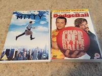 2 X Ben Stiller DVDs £1
