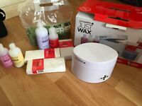 Salon system waxing kit