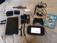 32gb Wii u and accessories