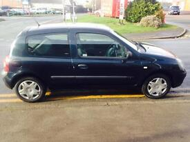 RENAULT CLIO 1.2 Authentique 3dr (blue) 2005